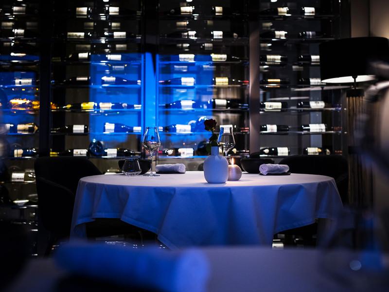 Wine cellar, restaurants Gex, La Table de la Mainaz
