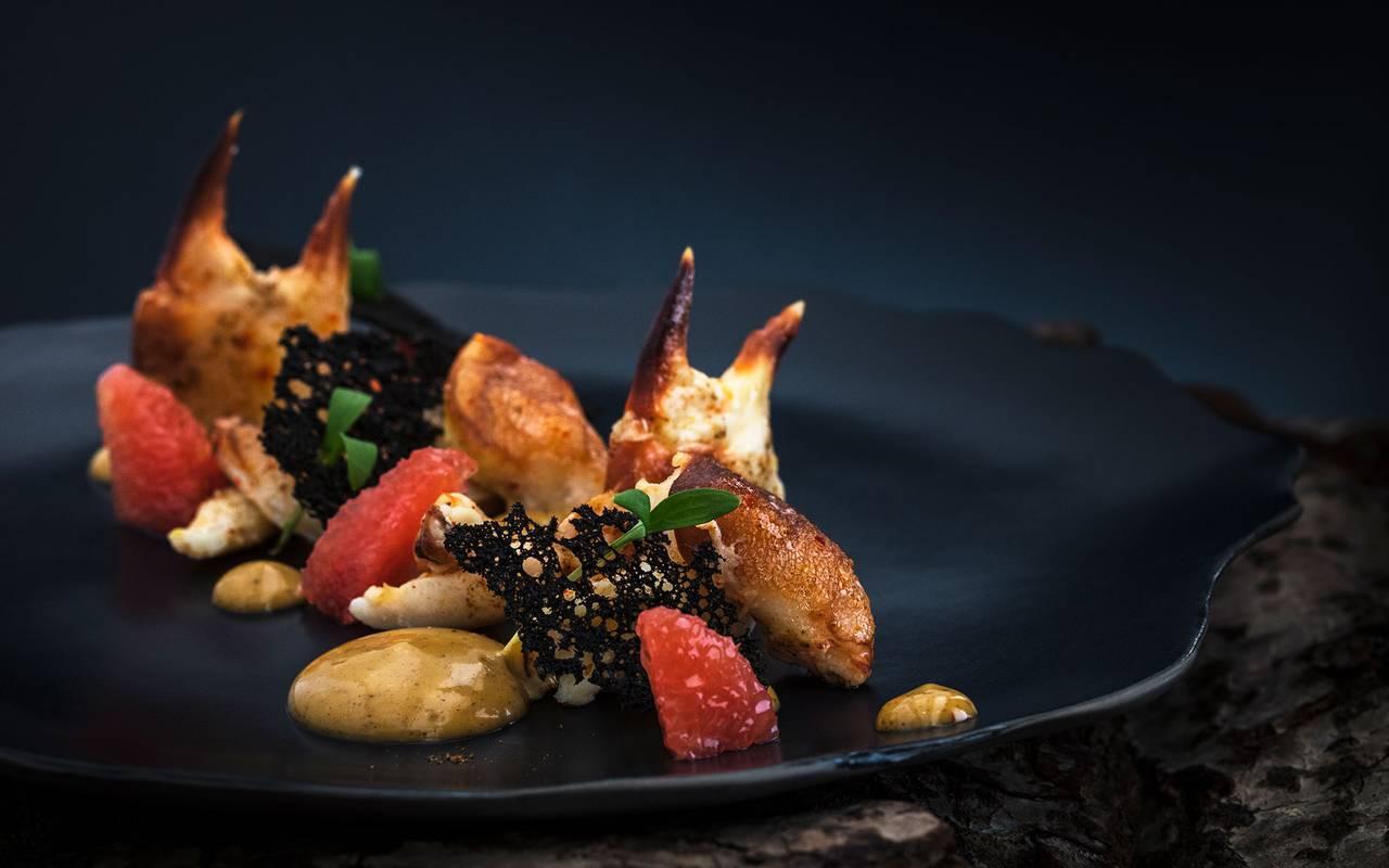 gastronomic dish, Geneva wedding venues, hotel La Mainaz
