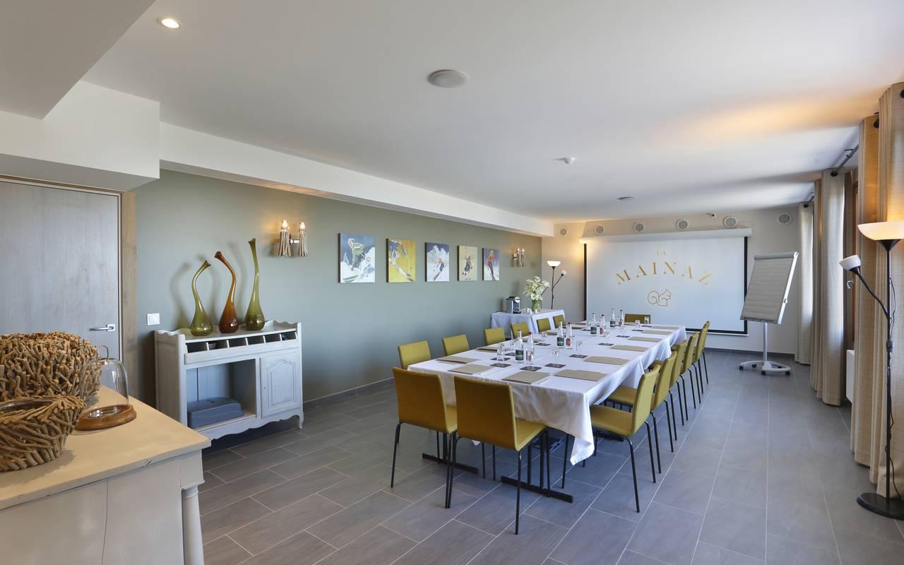 Meeting room, Geneva wedding venues, hotel La Mainaz