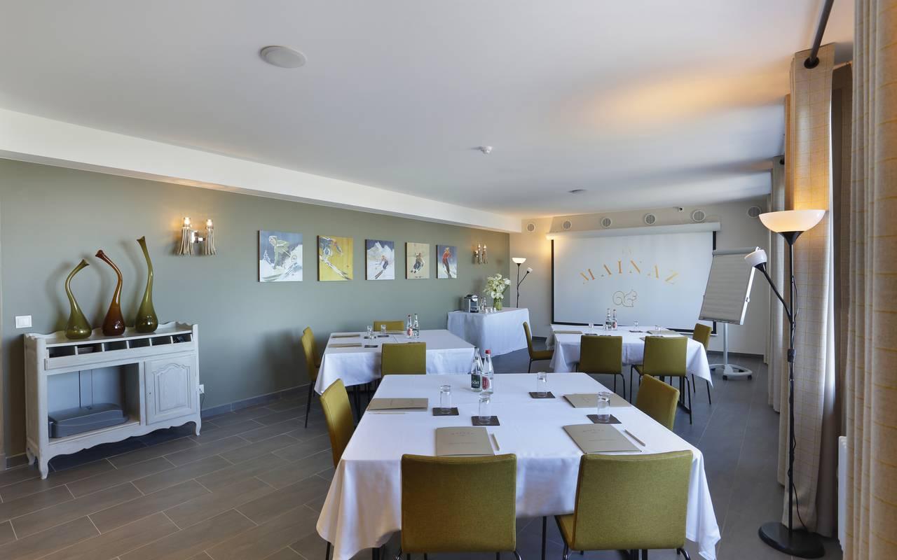 Room for seminar, Geneva wedding venues, hotel La Mainaz
