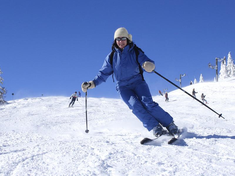 Ski dans la montagne hotel proche geneve