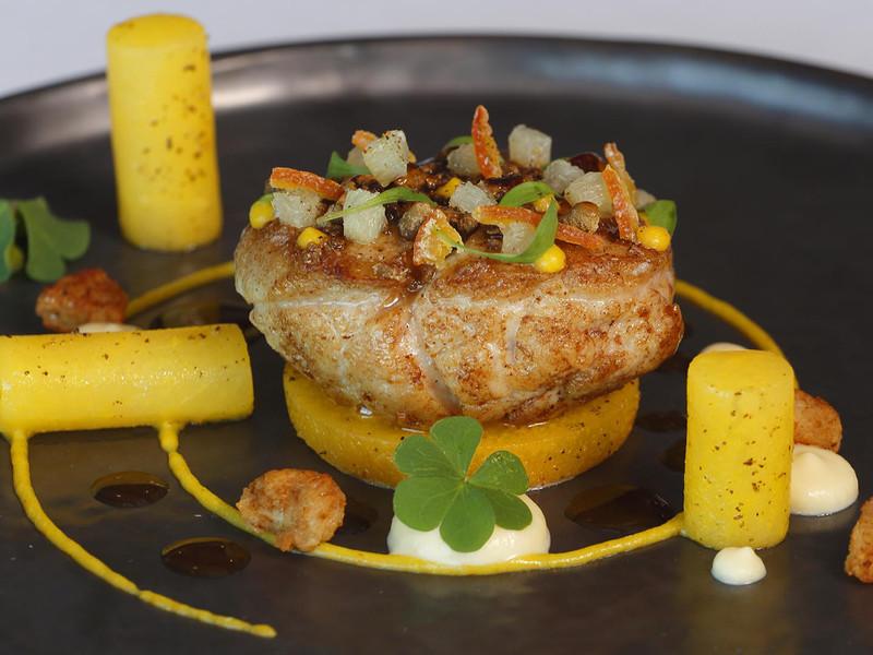 plat de notre restaurant gastronomique en Franche Comte, Le Panorama