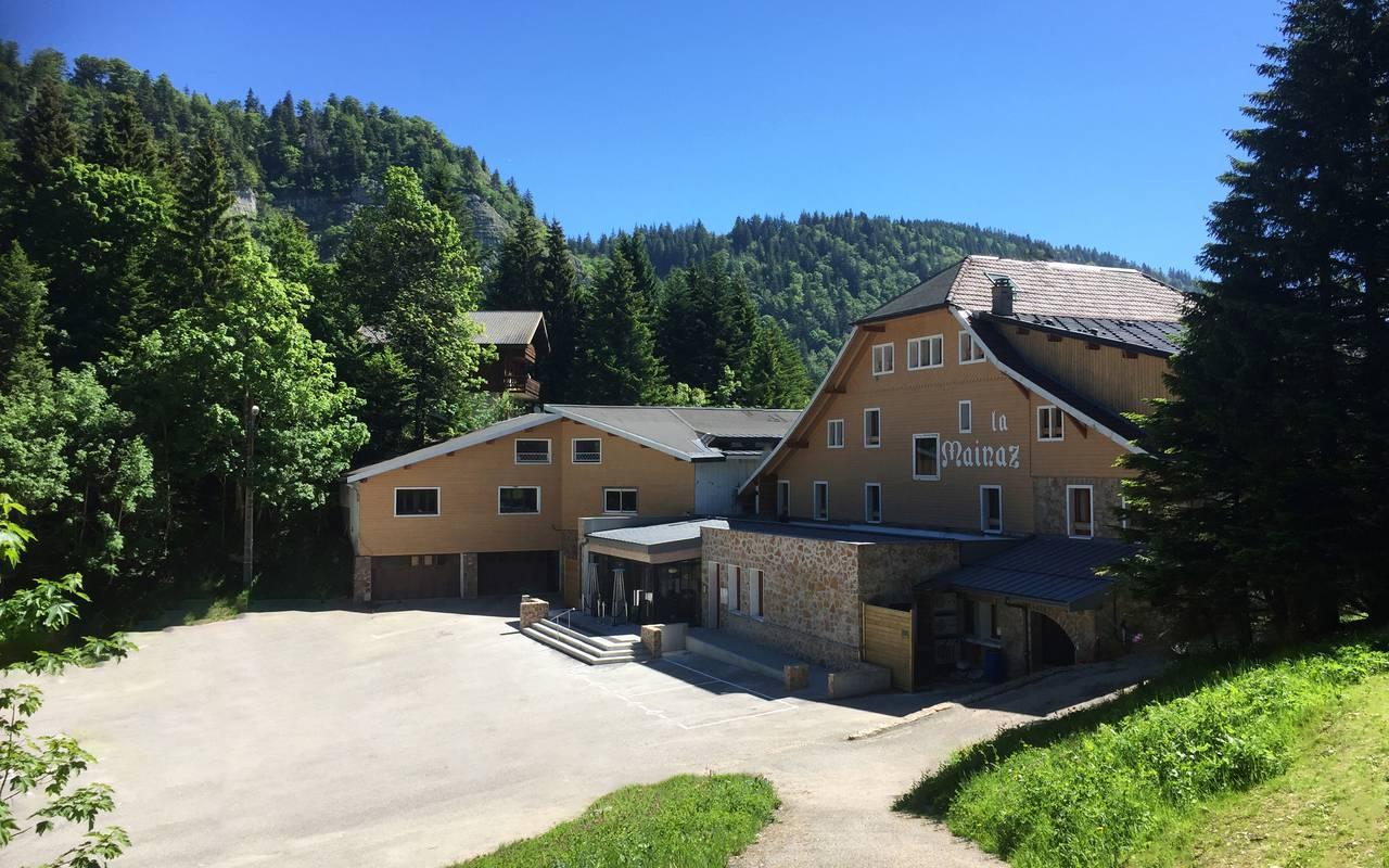 hôtel frontière Suisse 4 étoiles La Mainaz