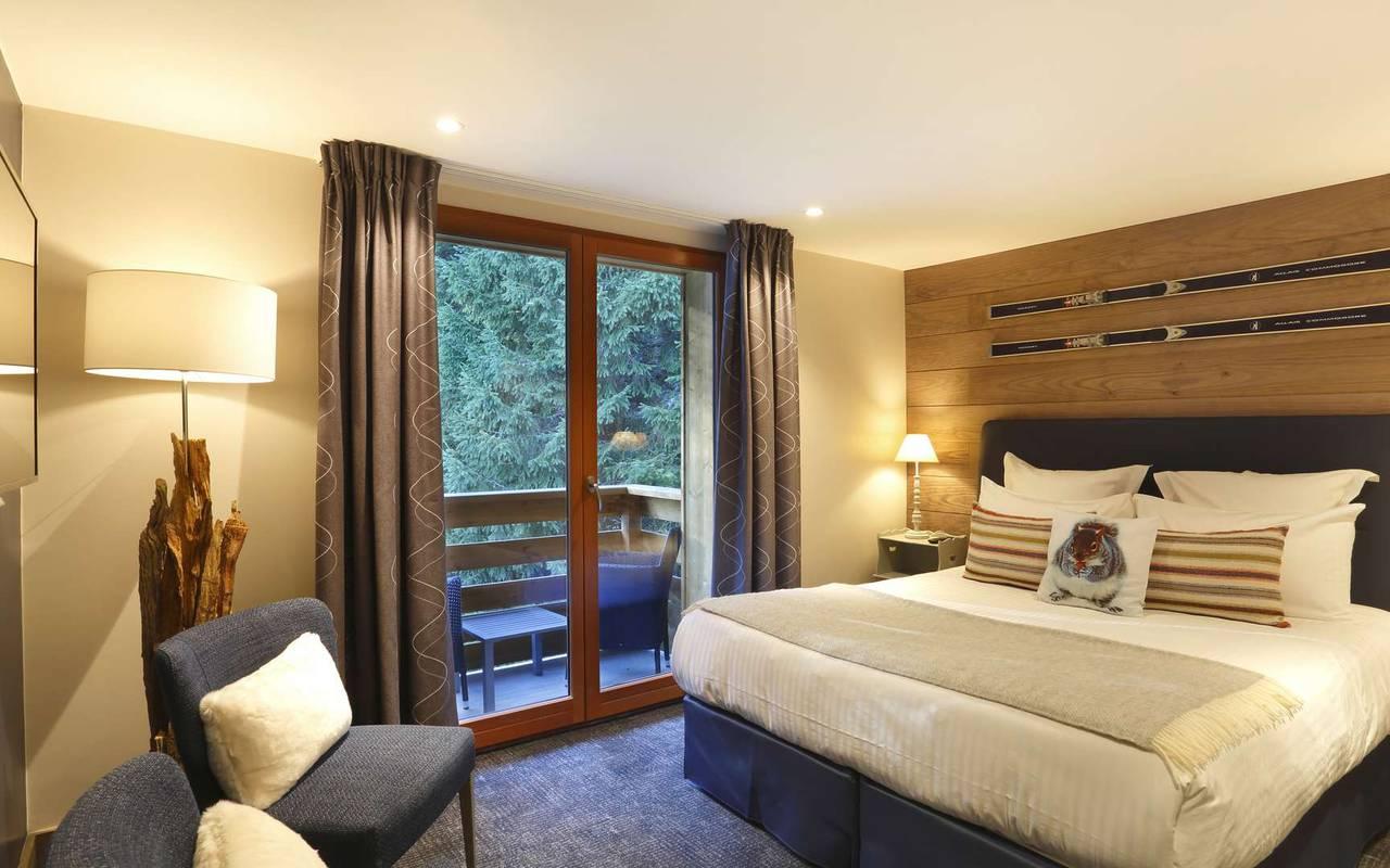 Chambre Premium, hôtel mijoux, La Mainaz